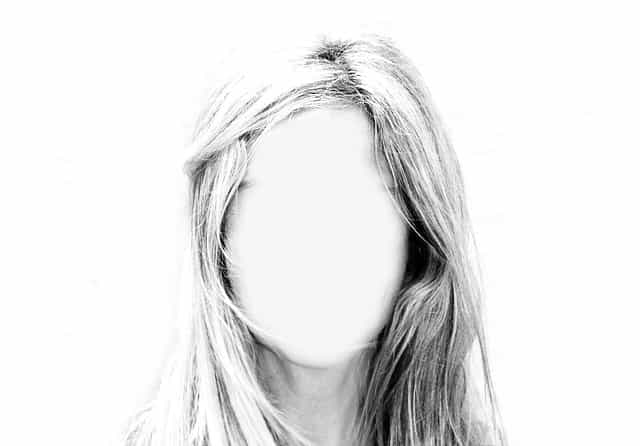 Existential Crisis - Woman With Blank Face